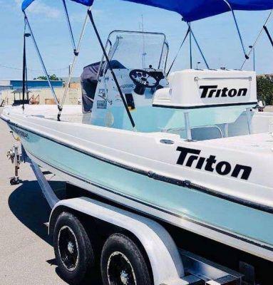 Lancha Triton de 22 pies año 2003 en venta en Monterrey, Nuevo León