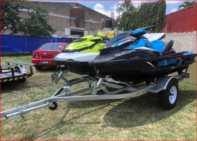 Remolque doble para moto acuática año 2020 en venta en Xochitepec, Morelos