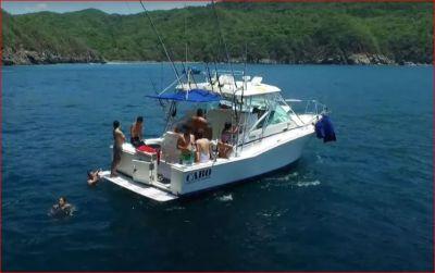 Yate Cabo Express de 31 pies año 1997 en venta en Manzanillo, Colima